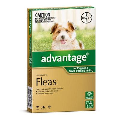 Advantage Flea Treatment <4kg Dog