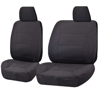 All Terrain Car Seat Covers For Toyota Landcruiser 60-70-80 Series Single Cab/Troop Carrier 1981-2010 | Charcoal