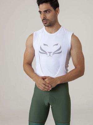 Taba Fashion Sportswear Pantaloneta Ciclismo Hombre Clasica Olive