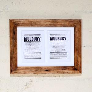Mulbury Multi-photo frames - 2 photos (Original Oiled Style)