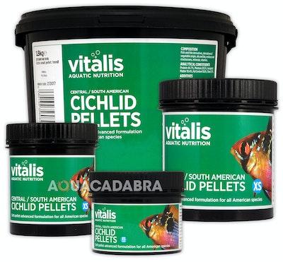 Vitalis Central / South American Cichlid Pellets 120g 1.5mm
