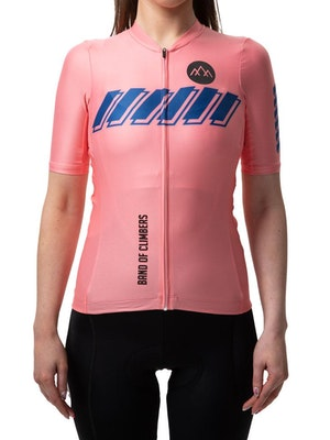 Band of Climbers Women's Pro Ascent Jersey - Pink