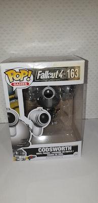 Codsworth pop vinyl from fallout 4