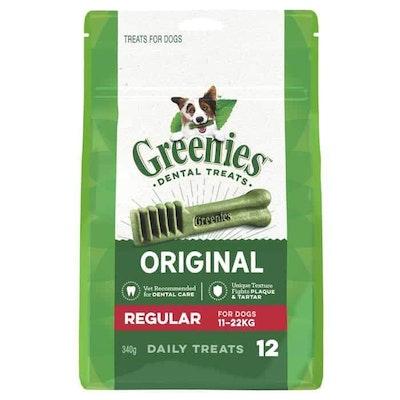 Greenies Regular Dental Chews For Medium Dogs Treats