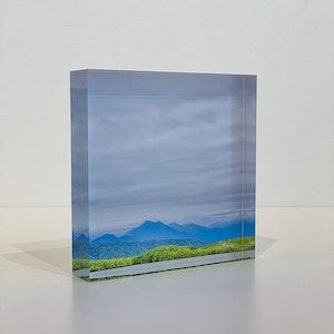 TEMPTATION - Acrylic Desk Block