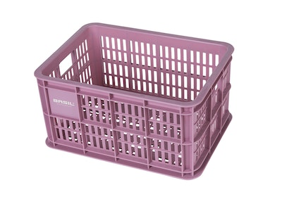 Basil Bicycle Crate S 25L Fade Blossom