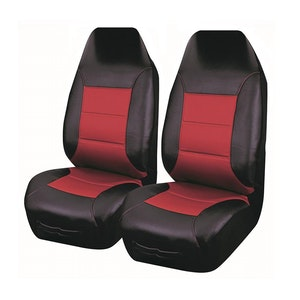 Universal El Toro Series Ii Front Seat Covers Size 60/25 | Black/Red