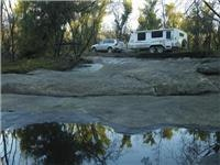 The Jayco Destiny Outback pop-top an ideal towing companion for the Volvo.