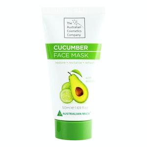 The Australian Cosmetic Company Face Mask Cucumber 50ml Beauty Facial Care