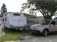 GoSee at home on a Hillcrest powered campsite St Helens  068