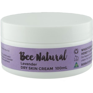 Bee Natural Lavender DRY SKIN CREAM - 100mL & 400mL
