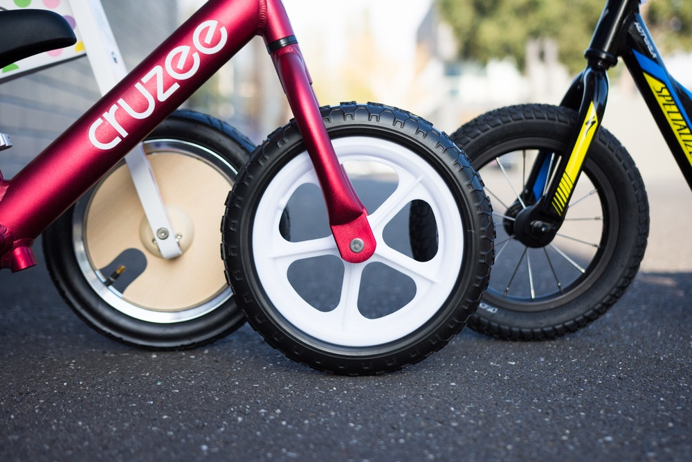 Balance Bikes wheels and tyres