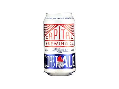 Capital Brewing Co Coast Ale Can 375mL