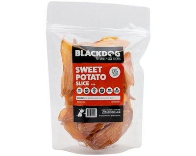 Black Dog Blackdog Sweet Potato Slice 1kg