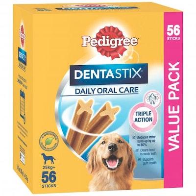 Pedigree Dentastix Oral Care Large & Giant Breed Dog Treats 56 Pack