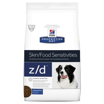 Hill's VET Hill's Prescription Diet Z/D Skin/Food Sensitivities Dry Dog Food