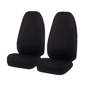 Universal All Terrain Front Seat Covers Size 60/25 | Black