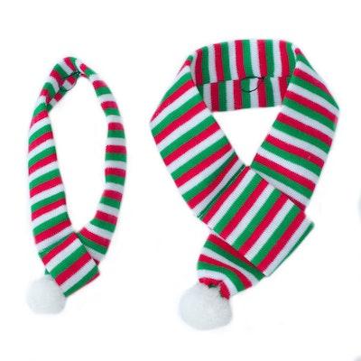 Zippy Paws Christmas Holiday Scarf
