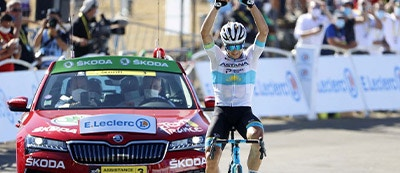 WHAT A RACE! ALEXEY LUTSENKO, ASTANA TEAM PRO ATHLETE, WINS THE 6TH STAGE OF THE TOUR DE FRANCE