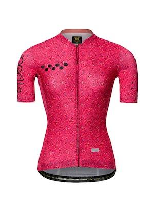 Pedla OFF GRID / Women's Roamer Jersey - Speckle Raspberry