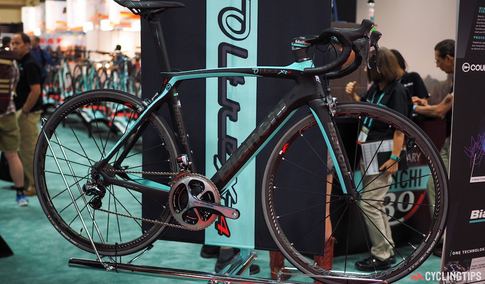 Bianchi OLtre XR4 road bike InterBike 2016 CyclingTips 43060