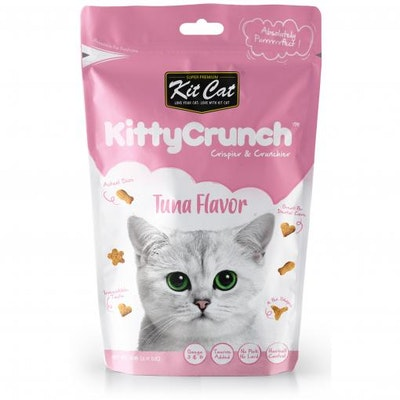 KIT CAT Tuna Kitty Crunch Cat Treats 60G