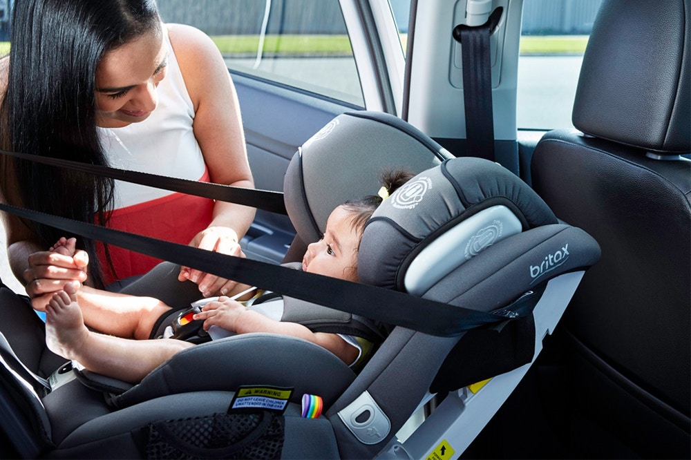 Setting up a Car Seat Safely