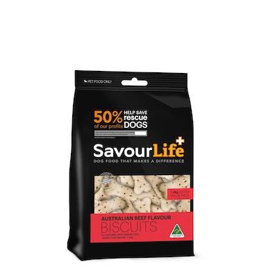 Savourlife Biscuits 500g Beef