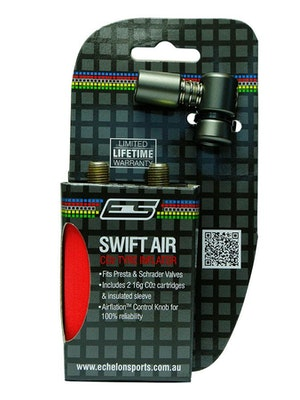 ES Accessories Swift Air CO2 Inflator with 2 x 16gram CO2 cartridges