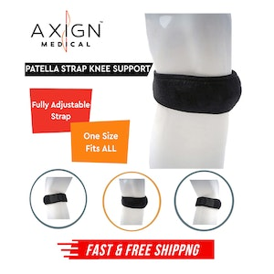 Axign Medical PATELLA STRAP Knee Support Brace Leg Tendon Support