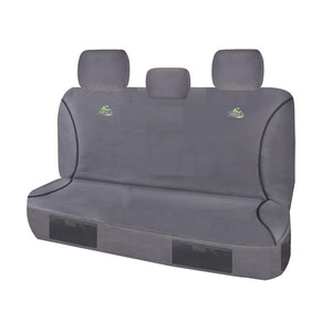 Trailblazer Seat Covers For Toyota Hilux Workmate 2016-2020 Dual Cab   Charcoal
