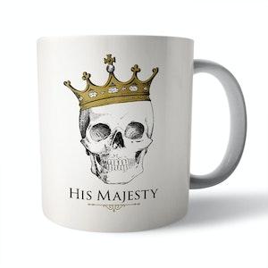 His Majesty Ceramic Mug