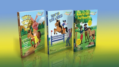 Horse Riding Hub Giddy Up Beginner Books Collection - Get one book free when purchased as 3 plus free bookmark