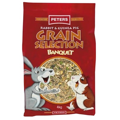 Peters Rabbit & Guinea Pig Grain Selection Feed - 2 Sizes