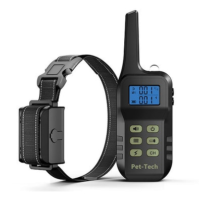 Pet-tech 2 in 1 - Bark & Remote training collar (1 - 3 dogs)