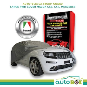 4WD Car Cover Stormguard Waterproof Large to 4.9M Mazda CX5 CX7 Mercedes ML
