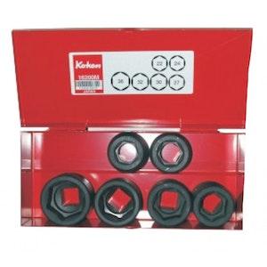 "Socket Set Impact 6 Piece 3/4""Dr 22mm - 36mm KO16200M6 KoKen"
