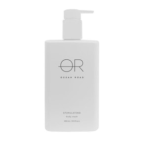 Ocean Road White Stimulating Body Wash (400ml)