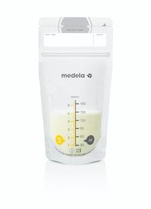 Medela Breast Milk Storage Bags 25 pack, easily freeze, store & defrost breast milk