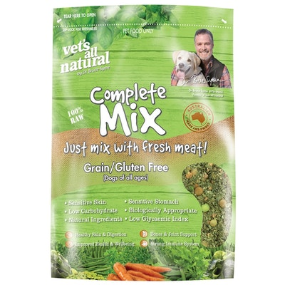 Vets All Natural Complete Mix Grain & Gluten Free Dog Food - 2 Sizes