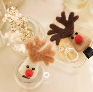 Rudolph Hairclip