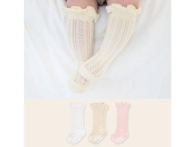 Ruffle Summer Knee Socks (3-8 yrs old)