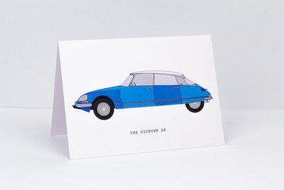 The Citroen DS Greeting Card