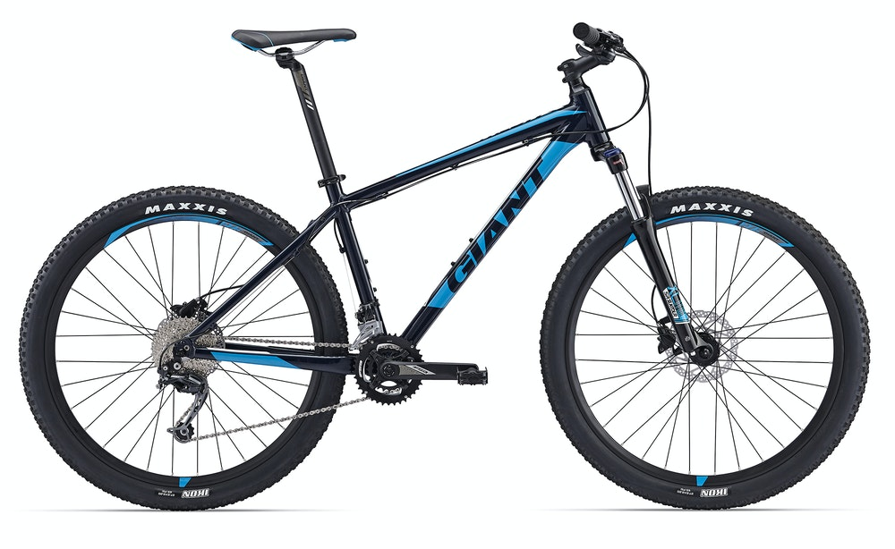 Giant Talon 2 Blue BikeExchange 2017