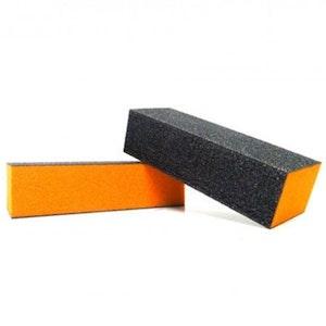 Orange Buffing Block Buffer File Abrasive Shape Finisher