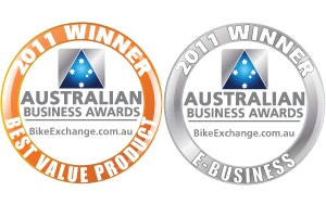 bikeExchange.com.au wins 2011 Australian Business Award for Best E-Business and Best Value Product