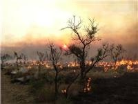 Kimberley on fire  Courtesy  Fire and Emergency Services Authority of Western Australia