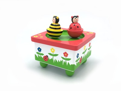 Koala Dream BEE & LADYBIRD MUSIC BOX