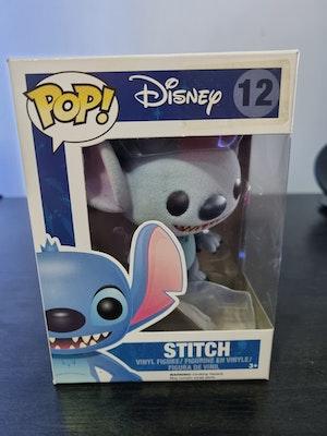 Stitch #12 Flocked Funko Pop - Lilo & Stitch