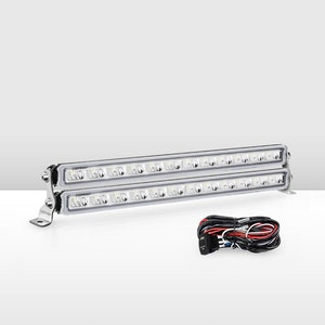 Pair 14inch Osram LED Light Bar Super Slim Single Row + Wiring Kit